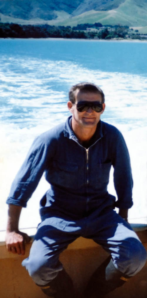 Image: Patrick O'Brien ~ circa 1985